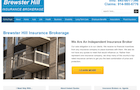 Brewster Hill Insurance Brokerage – Website Development and Local SEO